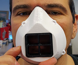 3d printer coronavirus mask