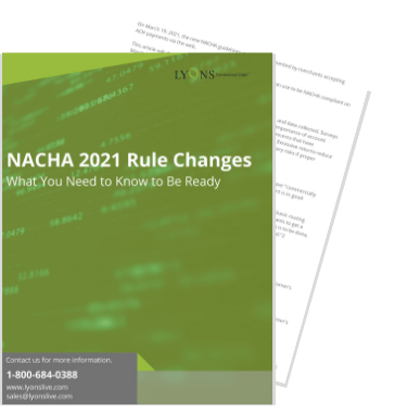 nacha rule changes 2021